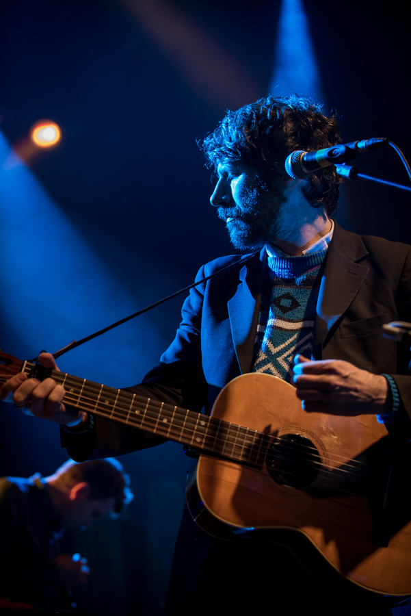 Gruff Rhys performing at Koko, London as part of his American Interior Tour 2015