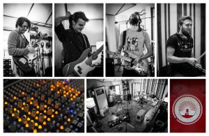 The Scruff Club recording at Lightship 95 Studios, Isle of Dogs, London 07/10/15 Photo by Chris Lopez